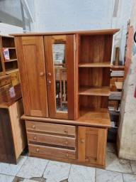 Título do anúncio: Guarda-roupa 2 portas com cantoneira em madeira, Artesanal Móveis