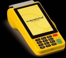 Máquininha de Cartão Moderninha pro 2
