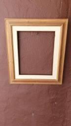Moldura ouro linda vintage 70x60 grande frame foto antiga