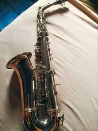 Sax alto Werill Master borboleta bem conservado e revizado