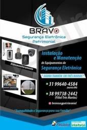 Portão Eletrônico; Interfones; CFTV; Câmeras; Cercas;