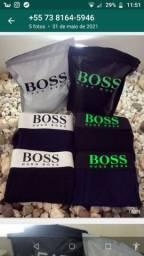 HuGo Boss lançamento qualidade algodão elastano