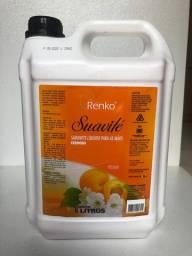 Sabonete líquido 5L R$ 23,00