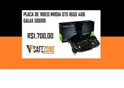 Placa de Video Nvidia Galax GTX 1650 4gb gddr6