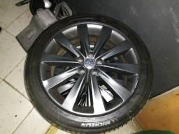 Rodas de liga 17 com pneus