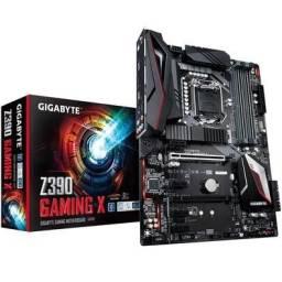 Placa Mãe Gigabyte Z390 Gaming X LGA1151 - NOVA - Loja Física