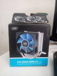 CPU Cooler novo na caixa