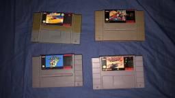 Jogos (cartuchos) originais de Snes super Nintendo