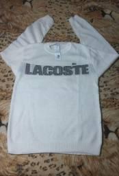 Suéter da Lacoste Tam G 99,90$/ capote Dry Fit do PSG Tam M 119,90$
