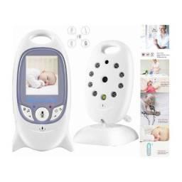 Título do anúncio: Baba Eletrônica Baby Monitor sem Fio tela colorida e visão noturna