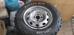 Título do anúncio: Roda e pneus