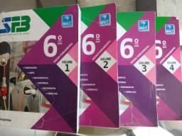 Vende-se ou Troco Livros usados 6 Ano SFB - Sistema Farias Brito