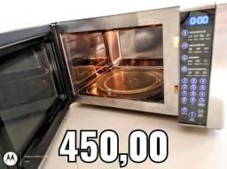 Vendo micro-ondas 31 Litros inox espelhado
