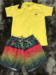 Conjunto moda Praia