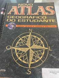 Título do anúncio: Novo Atlas Geográfico Do estudante