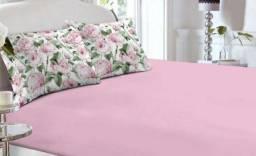 Lençol luva com elástico e Fronhas para cama box padrão só 80 reais
