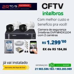 Título do anúncio: KIT COM 2 CÂMERAS DE SEGURANÇA