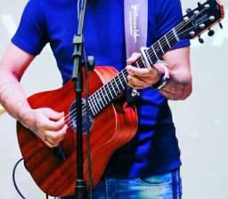 Vendo Violão Giannini Baby performance novo