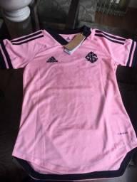 Camisa Internacional outubro rosa feminina