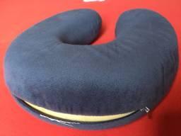 Almofada pescoço Cinza