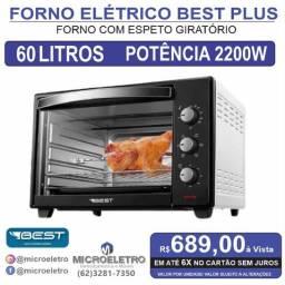 Forno Elétrico 60 Litros Best Plus