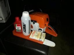 Motor serra a gasolina, compressor a Ar, rossadeira a gasolina, engenhoca de cana