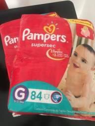 Fraldas Pampers Super Sec