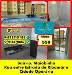Aluguel R$ 600,00 Parque do Sol 2 (Bairro Maiobinha)