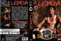 A Lenda seriado completo do Bruce Lee 17 DVDS 50 episódios e + Brandon Lee e Shannon lee