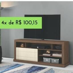 Rack Bancada para Tv + Novo na caixa S/ Juros