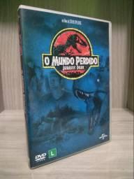 DVD O mundo Perdido de Jurassic Park
