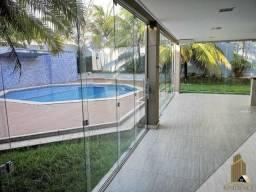 Casa com piscina alto padrão - Cond. Florais Cuiaba, 5 suites, com armários