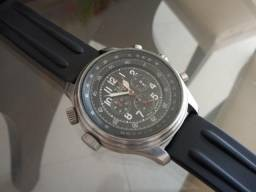 Relógio Trias alemão Aviador Chrono em perfeito estado. Único a venda!