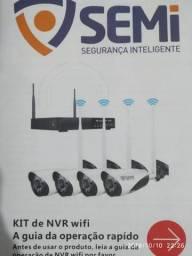 Kit sistema de câmeras e monitoramento residencial e comercial+instalação