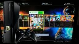Xbox slim helite 200 jogssssssss