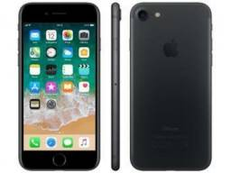 IPhone 7 Apple 128GB Preto Matte 4G Tela 4.7? iOS 11