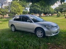 Honda Civic 1.7 Automatico Completão Aceito troca - 2005