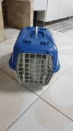 Caixa de transporte para gatos ou cachorros de pequeno porte