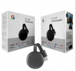 Chromecast 3 Google Full Hd Wi-fi/hdmi Pronta Entrega Novo