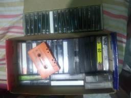 Diversas fitas Cassete ou K7 de músicas por R$150