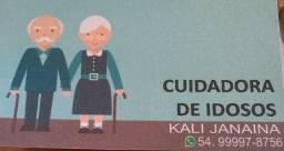 Cuidadora de idosos!