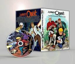 Jonny Quest Coleção Completa 1964 a 1996