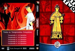 Samurai Jack Da 1ª À 5ª Temporadas Completas (5 DVD's)