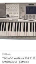 Teclado arranjador Yamaha psr2100 à negócio 71 9  * zap