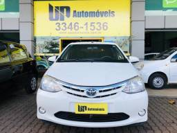 Toyota Etios XLS 1.5 hatch completo revisado extra unico dono 2014