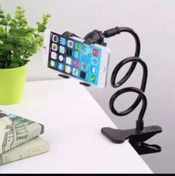 Suporte pra celular de prender em mesa ou cama