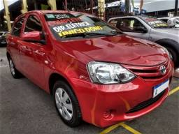 Toyota Etios 2016 completo,dir.eletrica,hatch 1.3x flex,(98 cv) ,ac,vte,usb,air bag,abs