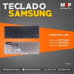 Teclado Notebook Samsung np270e4e np350v4x NOVO