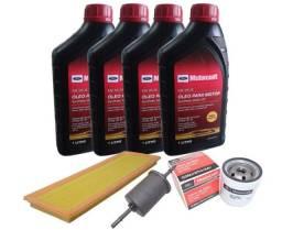 Kit Revisão 5W30 100% Sintético Ford KA e Fiesta Rocam 1.0 e 1.6