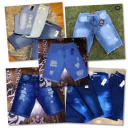 Bermudas jeans no atacado e no varejo ( valores na descrição )